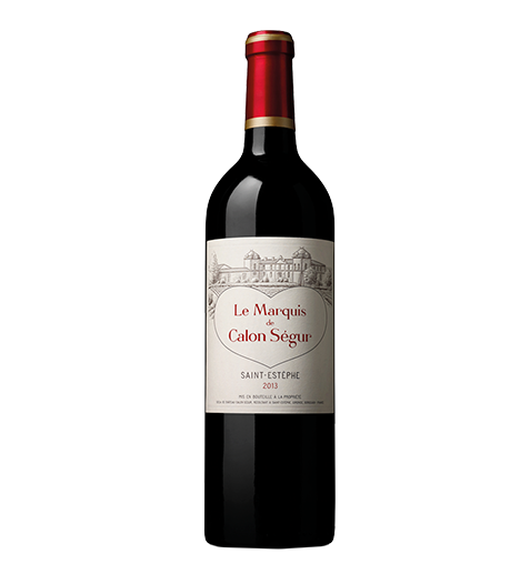 Le Marquis De Calon Segur (2nd wine of Calon Segur) 2013
