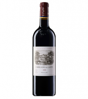 Carruades de Lafite (2nd Wine of Chateau Lafite) 2008