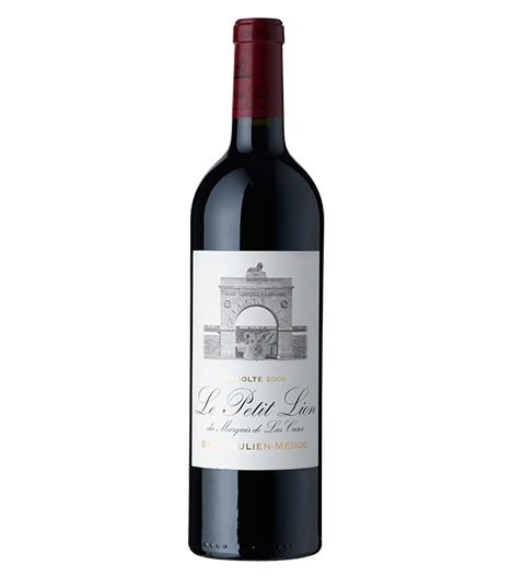 Le Petit Lion du Marquis de Las Cases ( 2nd wine of Chateau Leoville Las Cases, 2nd Growth) 2009