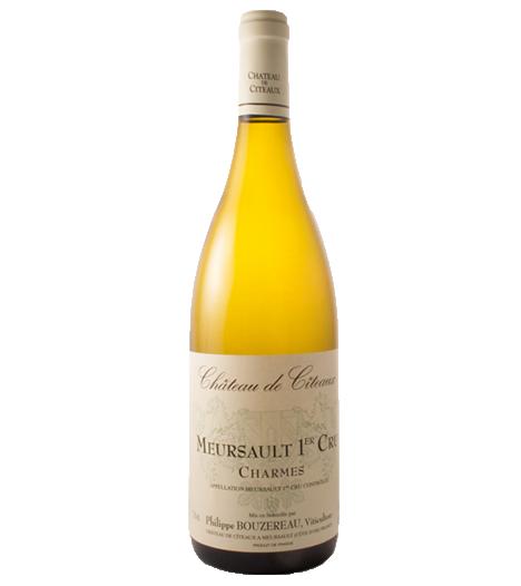 """Chateau De Citeaux Mersault 1ER Cru """"Charmes"""" 2015"""