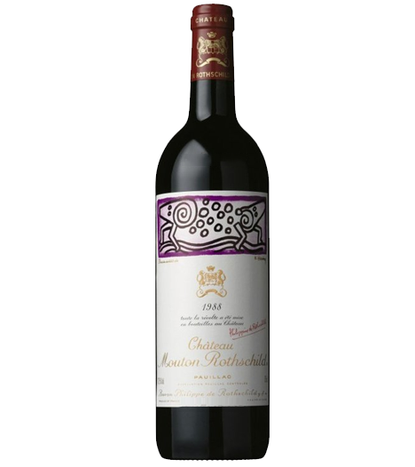 Chateau Mouton Rothschild, 1st Growth, Grand Cru Classe, 1988