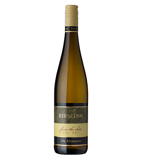 "Dr. Hermann ""From the Slate"" Riesling Off Dry 2013"
