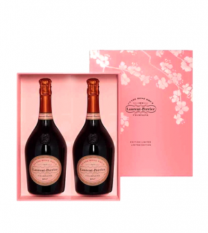 Laurent-Perrier Cuvee Rose Twin Pack Gift Box