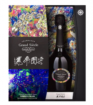 "Laurent-Perrier Grand Siecle ""La Cuvee"" Master Yun Series"
