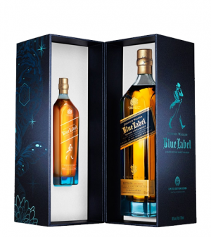 Johnnie Walker Blue Tristan Eaton 75 CL (20CL Free)