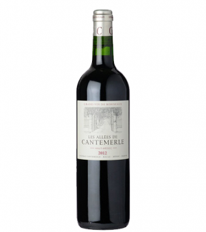 Les Allees De Cantemerle Grand Vin de Bordeaux (2nd Wine of Chateau Cantemerle) 2012