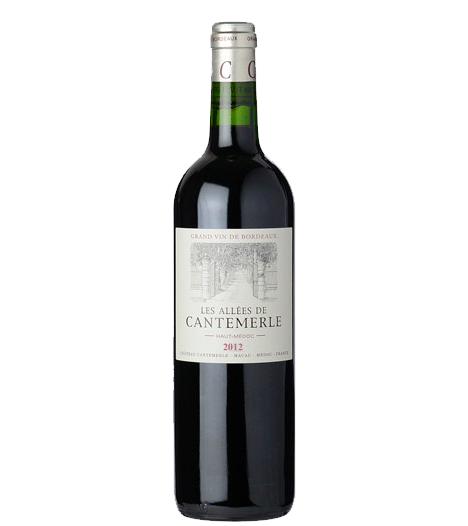 Les Allees De Cantemerle Grand Vin de Bordeaux (2nd Wine of Chateau Cantemerle) 2012