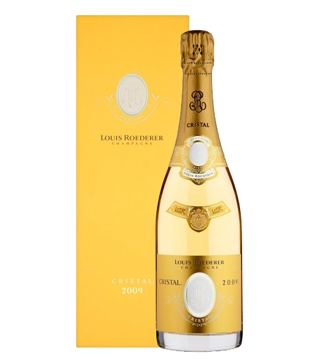 Louis Roederer Cristal Brut 2009 (with Gift Box)