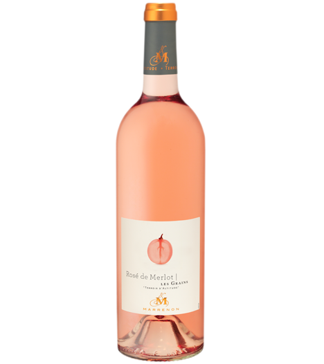Marrenon Merlot Rose Les Grains