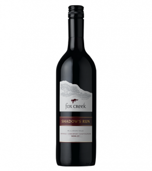 Fox Creek Shadow's Run Shiraz Cabernet merlot 2014
